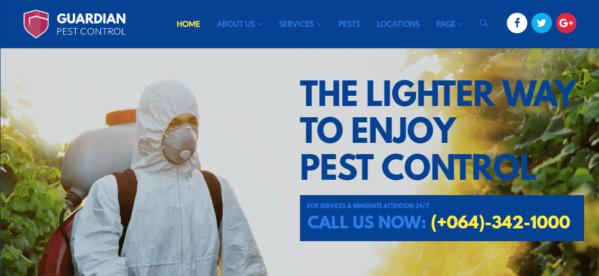 Best Pest Control WordPress Themes & Templates